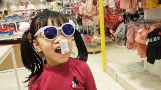 BaBiBum, Bé Đi Siêu Thị Mua Sắm Thời Trang, Váy Mới, Kid Grocery Shopping Dress, Fashion