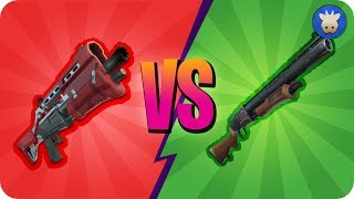 Shotgun Nerf/Update, Which is better? Tac VS Pump   Shotgun Only Challenge   Fortnite Battle Royale