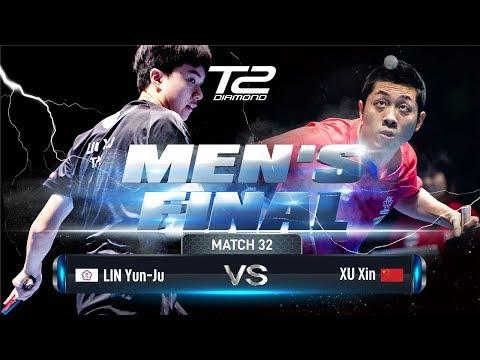 Xu Xin Vs Lin Yun-Ju   T2 Diamond 2019 Singapore (Final)