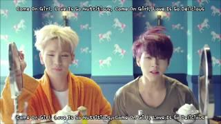 [HD] Toheart (WooHyun & Key) Delicious MV Lyrics [ENG SUB + HAN + ROM] Mp3