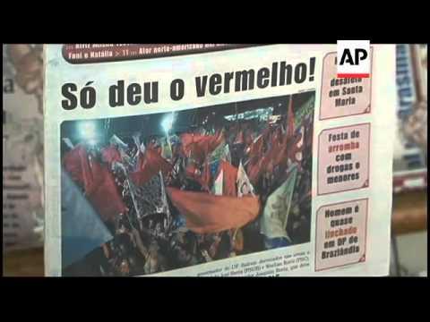 Brazil wakes up to 1st female president, headlines, vox pops