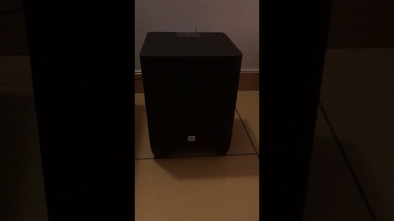 JBL Soundbar - SB350 popping noise