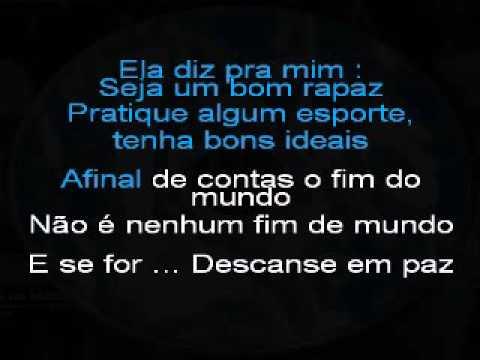 Lobão - Decadence Avec Elegance (Karaoke Lyrics)