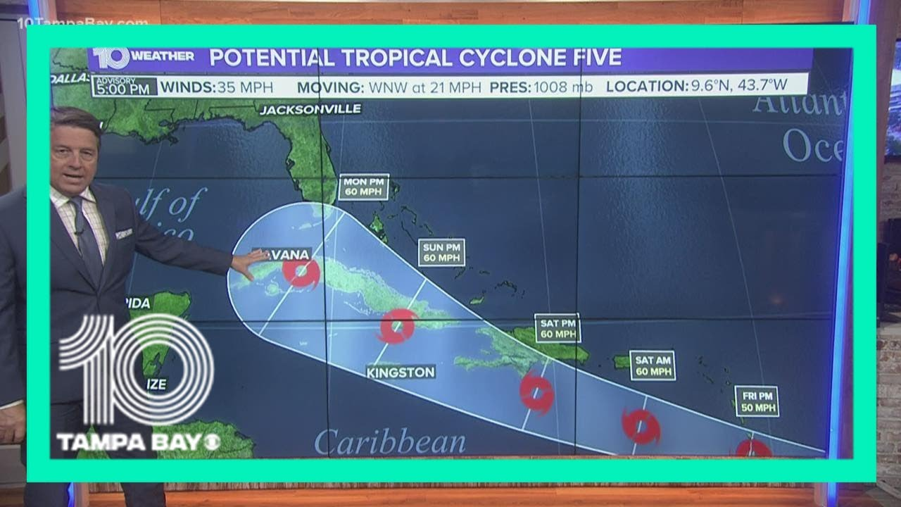Tropical Storm Elsa Nearing Cuba Landfall; Tropical Storm Watches ...