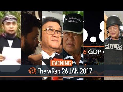 Aguirre, Philippine economy, ISIS | Evening wRap