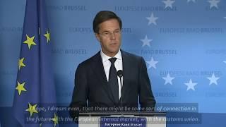 Dutch Prime Minister slams Brexit decision