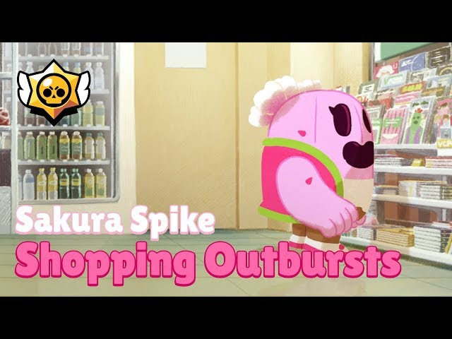 Brawl Stars: Sakura Spike - Shopping Outbursts