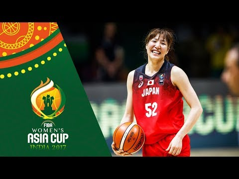 China v Japan - Full Game - Semifinal - FIBA Women's Asia Cup 2017