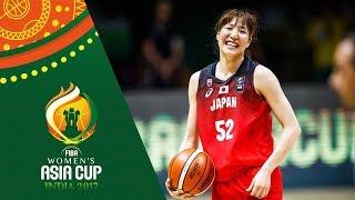 China v Japan - Full Game - Semifinal - FIBA Women's Asia Cup 2017