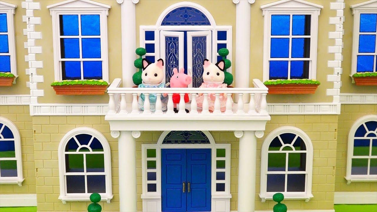 Juguetes de peppa pig en espa ol y casa de mu ecas de for Casa de juguete para jardin