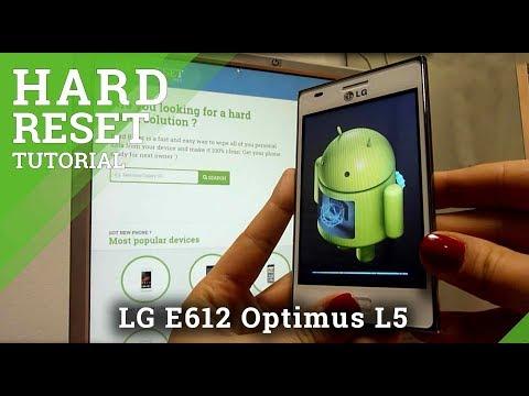 Hard Reset LG E612 Optimus L5