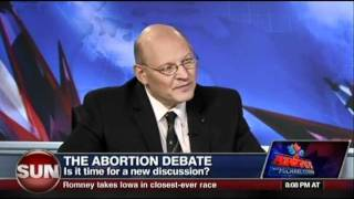 Michael Coren & MP Stephen Woodworth: The Abortion Debate