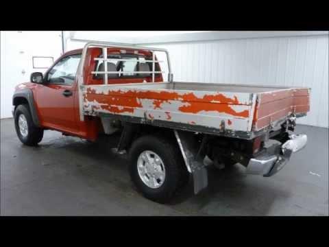 2004 Chevrolet Colorado Flatbed 2wd Repairable Rebuildable
