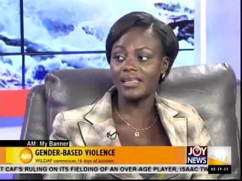 Gender Based Violence - My Banner (26-11-14)