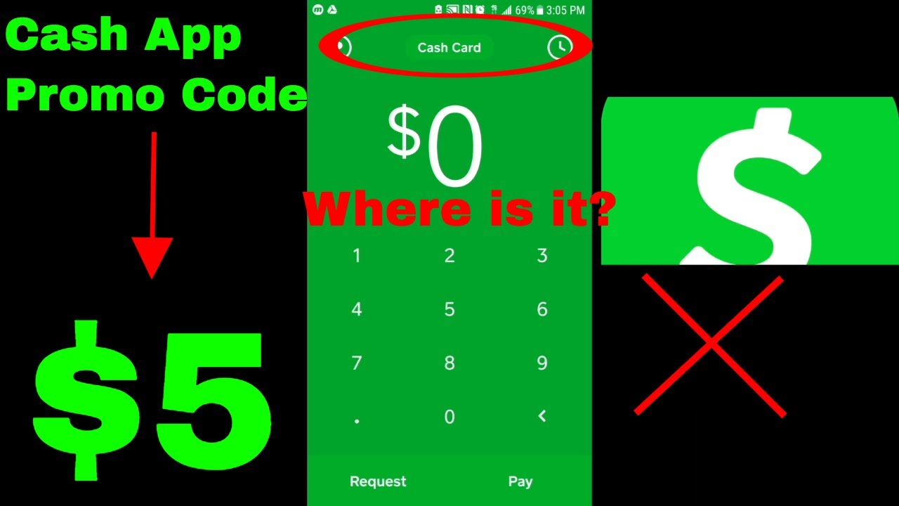 ✅ Cash App Promo Referral Code - Where is it? ($5 Link) 🔴