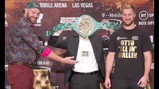 Tyson Fury vs Otto Wallin | Full Pre Fight Press Conference