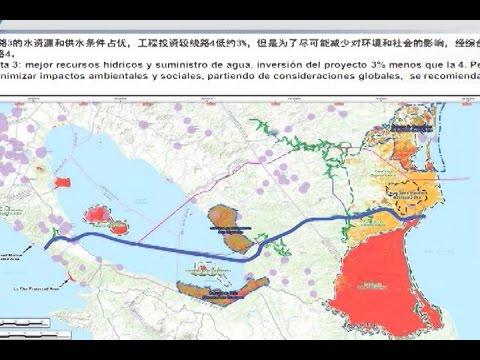 HKND, Wang Jing y el gobierno de Nicaragua anuncian ruta canalera ¿Qué hay detrás?
