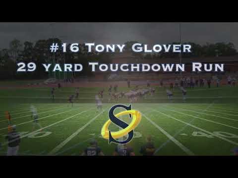 RB Tony Glover 29yd TD Run
