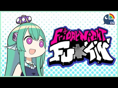 【Friday Night Funkin'】 BASE + MODDED VERSIONS 【NIJISANJI EN | Finana Ryugu】|「LazuLight」
