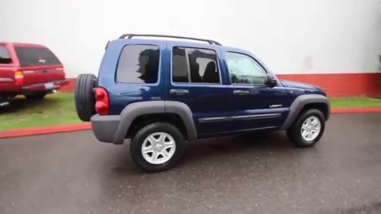 2004 Jeep Liberty Sport Blue