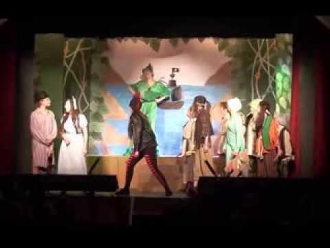Peter Pan Stephen Hill Pantomime 2014