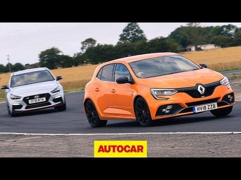 Renault Megane RS 280 Cup vs Hyundai i30N track battle Autocar