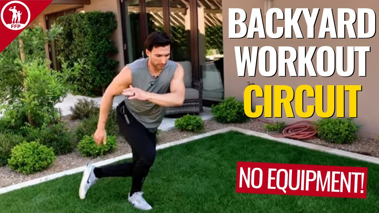 30 Exercises To Do In Your Backyard! NO EQUIPMENT