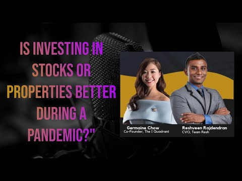 RESH X GERMAINE CHOW: Should I Invest in Stocks or Singapore Property? | Miracle Sunday