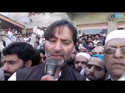 New Delhi making attempts to break unity among resistance leadership: Yasin Malik