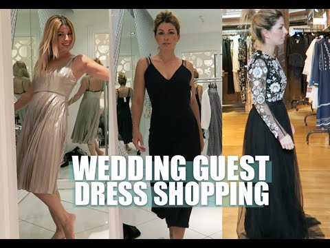 Wedding Guest Dress Shopping Lily Pebbles Vlog
