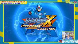 First Mega Man X Legacy Collection footage