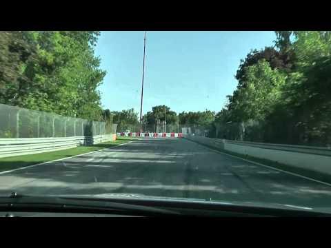 Two laps of Circuit Gilles Villeneuve with Alex Tagliani