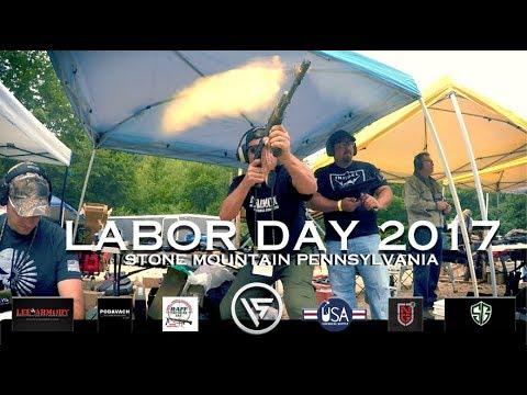 Labor Day 2017 - Machine Gun Mayhem at Stone Mountain