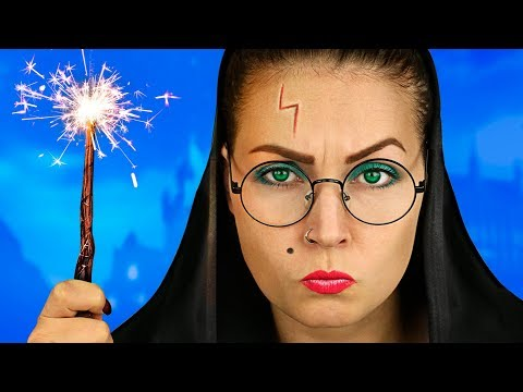 Harry Potter – Hogwarts School / School Pranks And Life Hacks