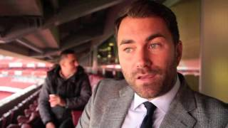 EDDIE HEARN CLARIFIES PPV DECISIONS, TALKS DeGALE v BUTE, GROVES,  KLITSCHKO v FURY & QUIGG-FRAMPTON