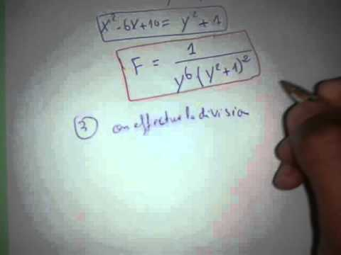 Les fraction rationnelle(exercice) - YouTube