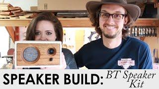 jen builds my diy bluetooth speaker kit