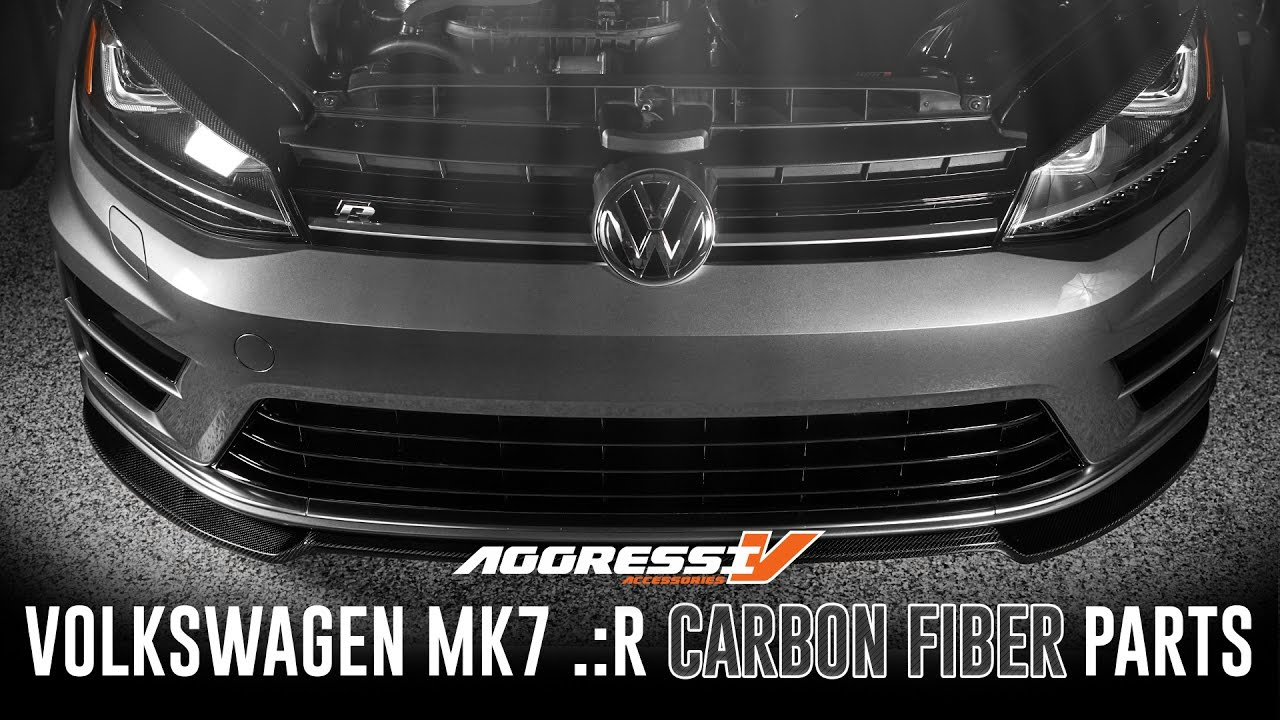 Gti Mk7 R >> Aggressiv MK7 Golf .:R Carbon Fiber Parts Overview // USP Motorsports - YouTube