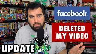 Facebook Deleted My Statement Video - Update