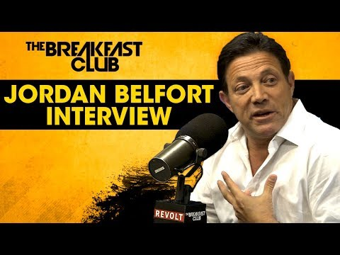 Wolf Of Wall Street Jordan Belfort Talks The Art Of Sales, Q