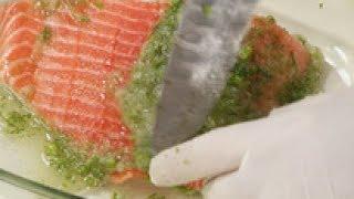 Солёная красная рыба впрок (хранение) мастер-класс от шеф-повара / Илья Лазерсон