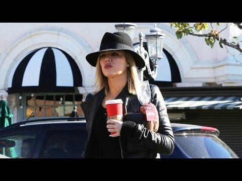 Khloe Kardashian Picks Up A Sweet Treat Before Heading To Hospital To Visit Lamar