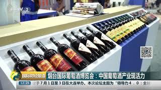 [国际财经报道]烟台国际葡萄酒博览会:中国葡萄酒产业现活力| CCTV财经