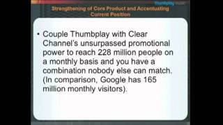 Thumbplay and Clear Channel Greensboro