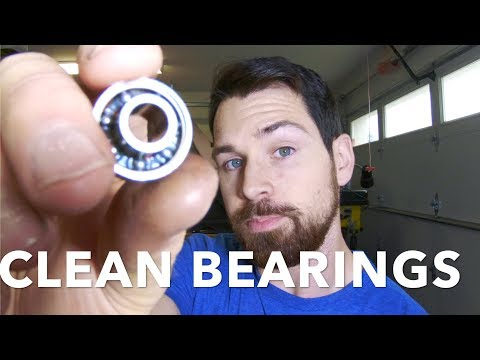 Cleaning bearings isopropyl alcohol vs citrus clear vs sopa and water.