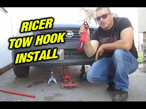 tow strap hook up