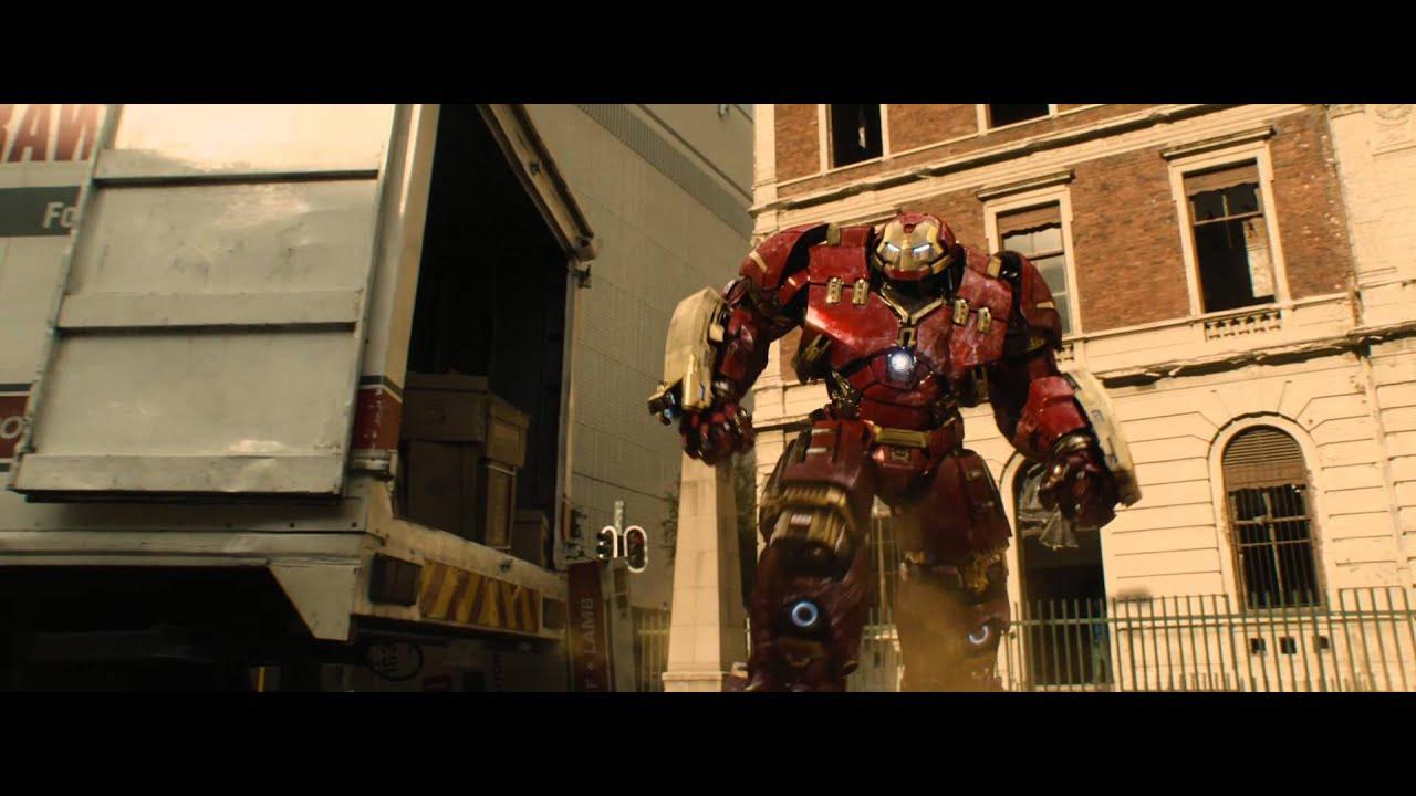 Vingadores Era De Ultron Hulkbuster X Hulk Youtube