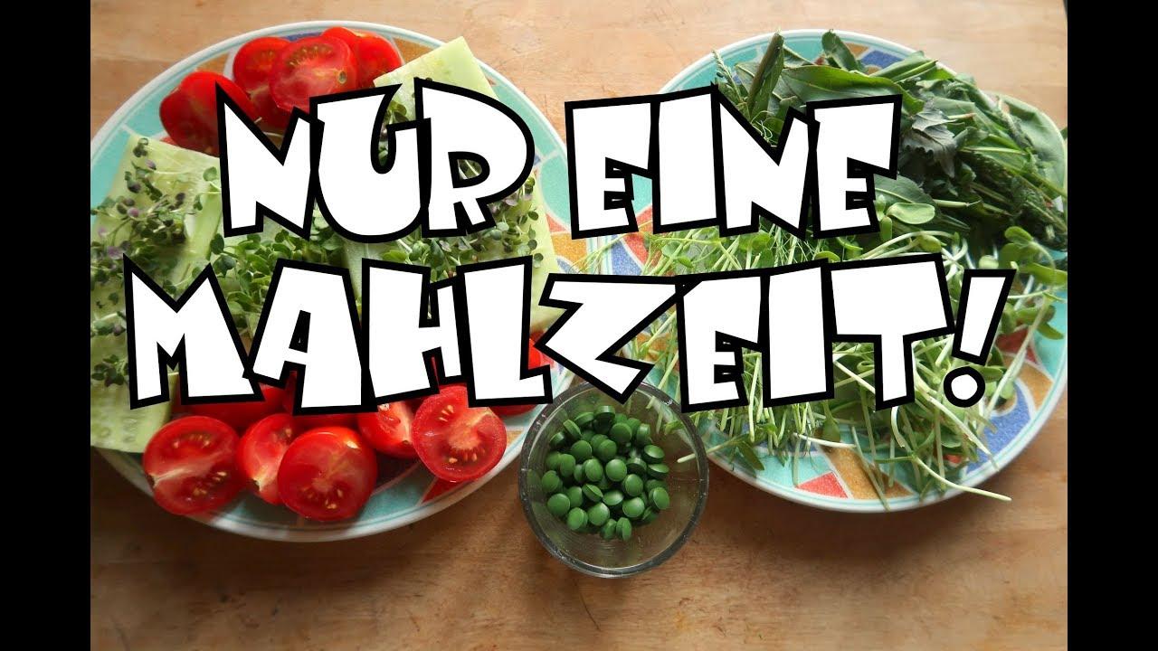 Ich esse nur noch eine Mahlzeit am Tag! Regional, saisonal und GRÜN!