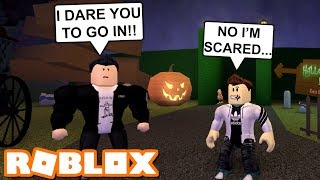 My Bully Made Me to Do This Spooky Maze... | Halloween Roblox Roleplay