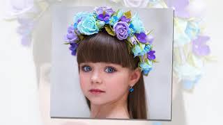 الطفلة أناستازيا كنيازيفا ذات الجمال الخارق تحصل على لقب أجمل طفلة بالعالم